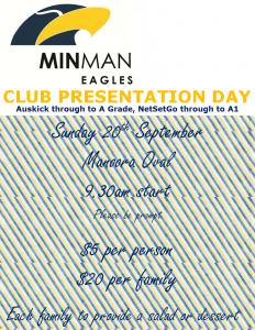 club presentation day
